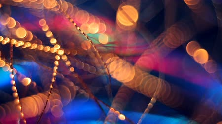 цирк : Abstract blurred Christmas background