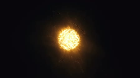 electron : Sun surface with solar flares