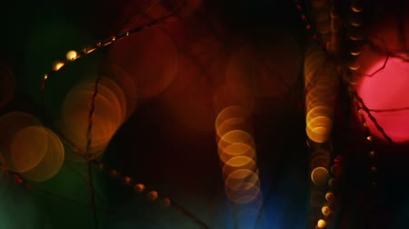 cicili bicili : Abstract blurred Christmas background
