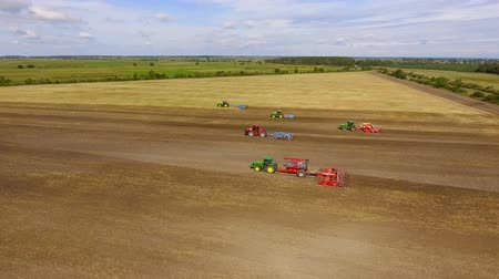 Sowing field and all kinds of tractor work