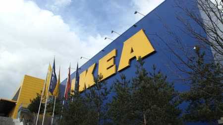 affiliate : GENEVA - 11 MARCH 2013 : Sequence of few shots of IKEA store in Vernier (Geneva, Switzerland). This day, IKEA Switzerland admit they have sold chocolate pies with fecal bacterias.