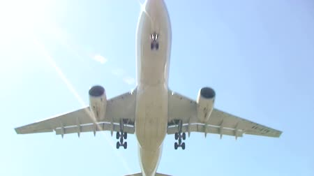 approach : Airplane approach for landing. Find similar clips in our portfolio.