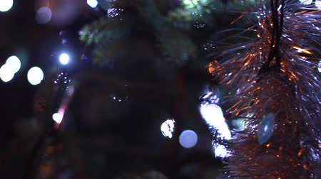 blinking light : Christmas lightsin the city. Find similar in our portfolio. Stock Footage