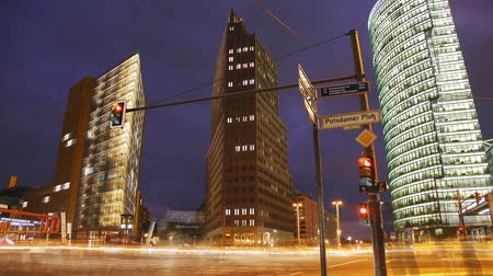 capital cities : Scene shows the Potsdamer Platz in Berlin.