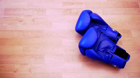 rachotit : two pairs of boxing gloves are thrown in the ring