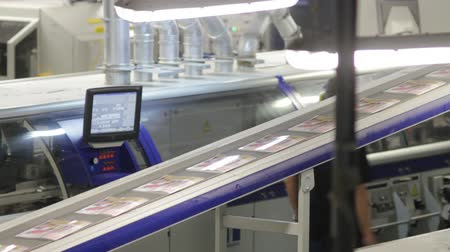 printings : Industrial printing DVD Stock Footage