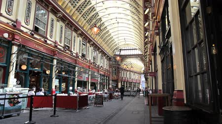 londra : London, July 11, 2014: London Leadenhall market