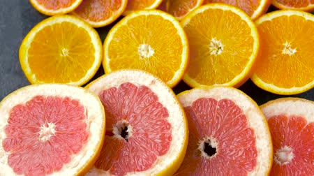 grejpfrut : close up of grapefruit, orange, pomelo and lime