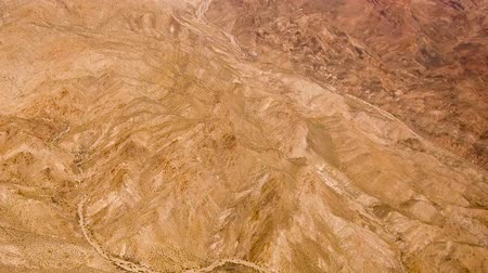 dead valley : aerial view of grand canyon from helicopter Stock Footage