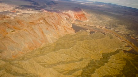 geológico : aerial view of grand canyon and colorado river