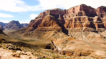 dead valley : view of grand canyon cliffs