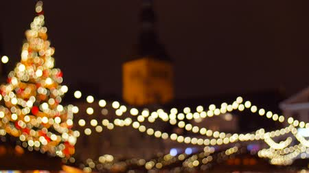townhouse : christmas market at old town in tallinn