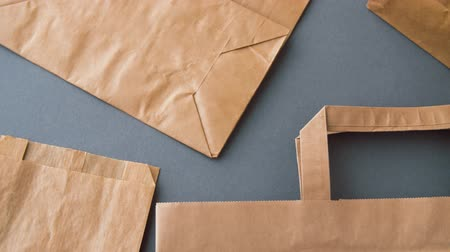 biodegradable : disposable paper bags