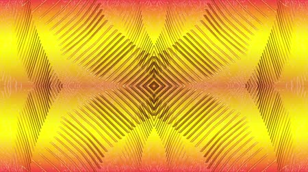 чистый : Abstract lines on a yellow background Стоковые видеозаписи