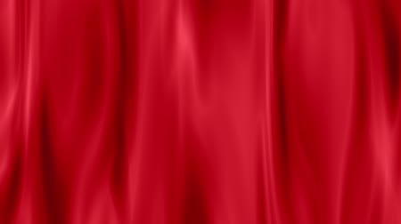 rama obrazu : red draped curtain as background  seamless loop ready animation hd 1080 Wideo
