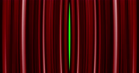 perdeler : High quality perfectly red curtain opening movement background. Green screen included. 4K Resolution Ultra HD Stok Video