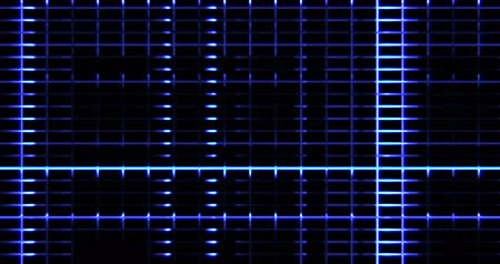 fraktály : abstract digital vertical and horizontal elettric blue lines background movement, seamless loop ready animation technology Dostupné videozáznamy