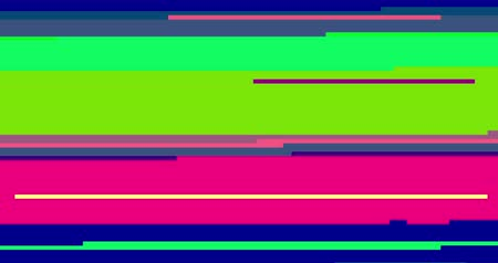 listras : abstract multi color realistic screen glitch flickering, analog vintage TV signal with bad interference and color bars, static noise background, overlay ready
