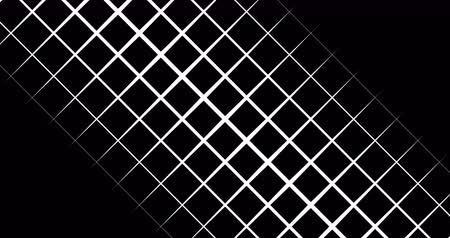 interseção : abstract multi triangle and square shape brush stroke black and white stripes transition background, animation of paint, alpha channel