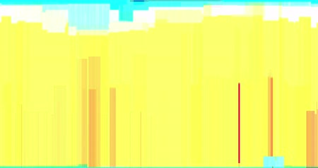 videotape : abstract multi color realistic screen glitch flickering, analog vintage TV signal with bad interference and color bars, static noise background, overlay