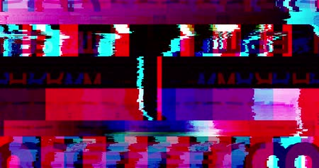 лента : abstract multi color realistic screen glitch flickering, analog vintage TV signal with bad interference and color bars, static noise background, overlay