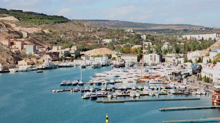 baía : Bay with boats