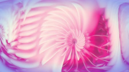 pink : Nautilium - Organic Abstract Pattern Video Background Loop Stock Footage