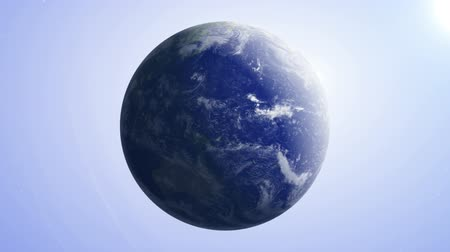 Earth 7 - 1080p Earth Globe Video Background Loop