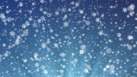 Pretty Snow - 1080p Snowflakes And Christmas Video Background Loop @60fps