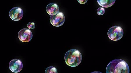 Soap Bubbles 4k - 1080p Colorful Fun Video Background Loop @60fps
