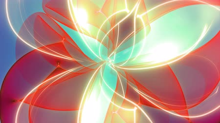 Infinitum - 4k Colorful Abstract Zoom-Out Video Background Loop 4k