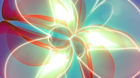 Infinitum - Colorful Abstract Zoom-Out Video Background Loop Stok Video