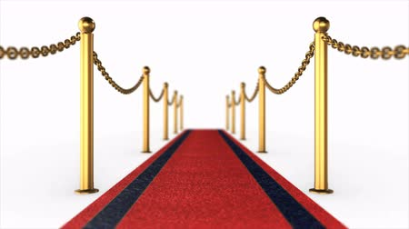 Red Carpet animation Stok Video