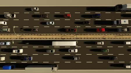 American High Way top view
