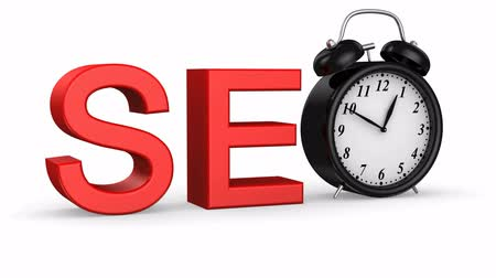 pesquisa : Start SEO. White background, 2 in 1, 3d render Vídeos