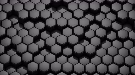 hexágono : Hexagons Form A Wave