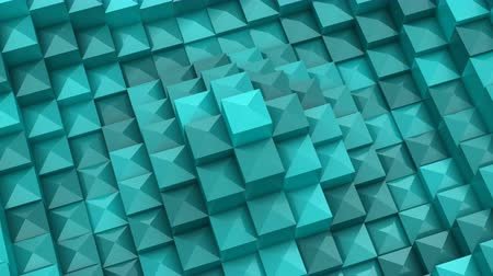 pyramida : Squares Formed A Wave