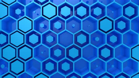 nowoczesne technologie : Background of Hexagons