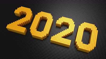 formado : Boxes Form The Number 2020