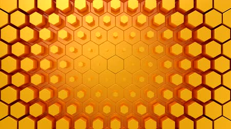 hexahedron : Hexagons Form A Wave