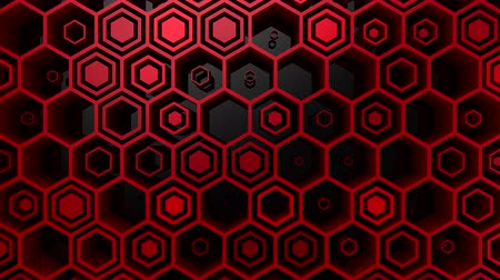 techno : Background of Hexagons
