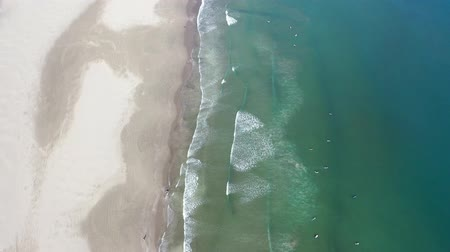 águas : Oarai coast taken by drone Vídeos
