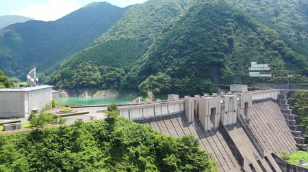 reservoir : Aerial view of Nagashima Dam