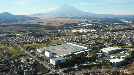 forgatás : Mt. Fuji seen from the sky of Susono City