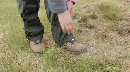 bota : Gaiters for the hiking. Norway
