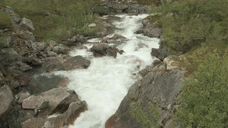 kedah : Threshold in the river. Norway Stock Footage