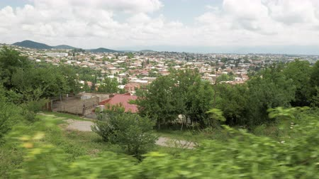 boggy : The view of city Kutaisi from Bagrati Cathedral area, Georgia
