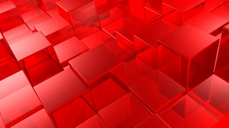 elements : red cubes background