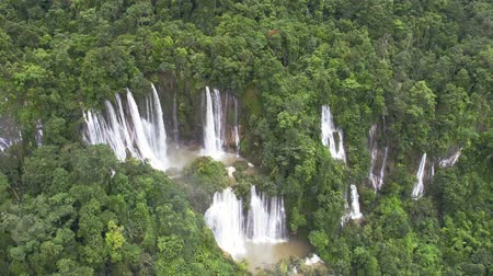 trave : Thi Lo Su Waterfall in Thailand.