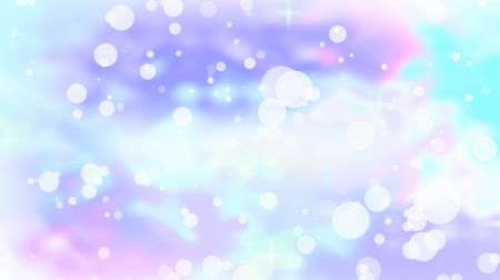 vago : The light background consists of asterisks and bubbles. Stock Footage
